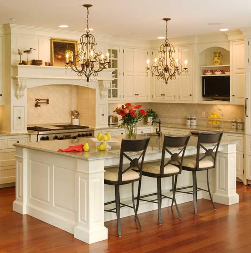 25 Windowless Kitchen Design Ideas-3