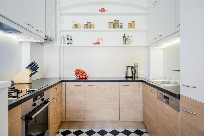 25 Windowless Kitchen Design Ideas-5