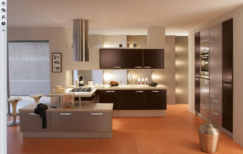 25 Windowless Kitchen Design Ideas-7