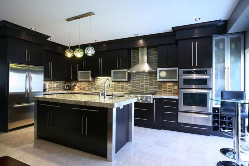25 of the Hottest Kitchen Noir Designs-16