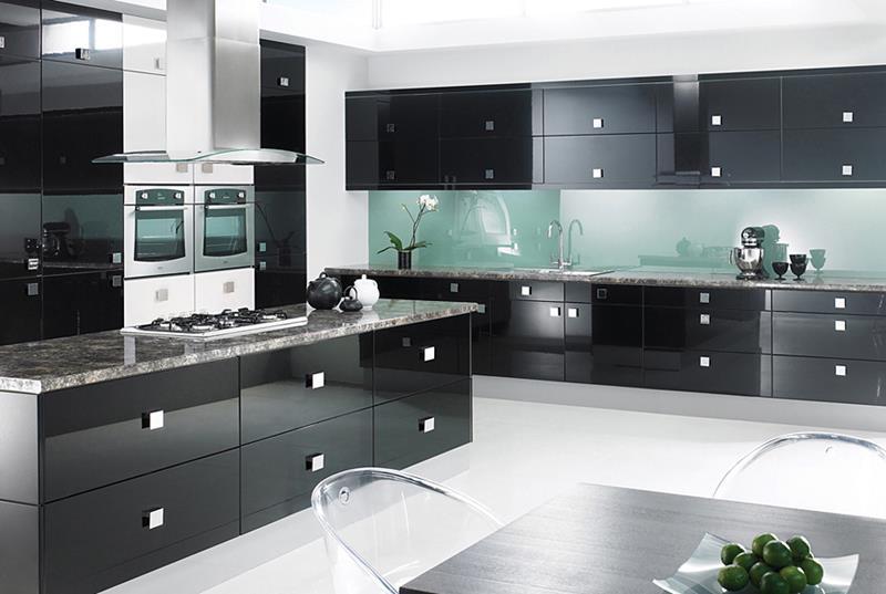 25 of the Hottest Kitchen Noir Designs-6