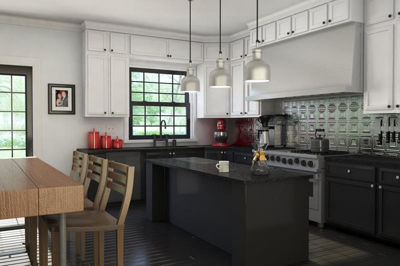 25 of the Hottest Kitchen Noir Designs-8