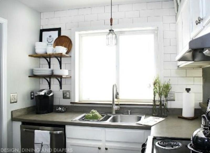 20 Pictures of Before and After Kitchen Makeovers With Cost-14
