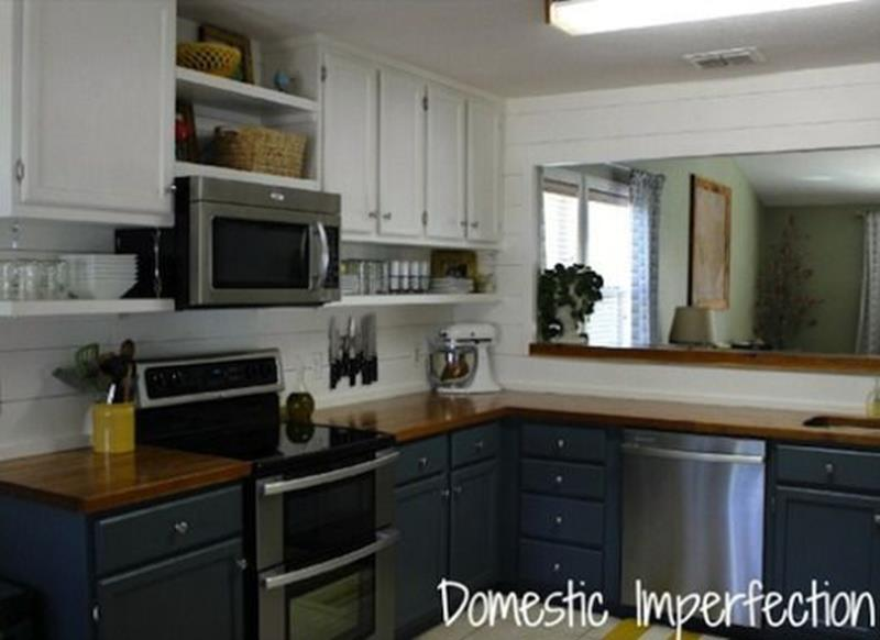 20 Pictures of Before and After Kitchen Makeovers With Cost-2