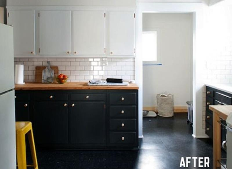 20 Pictures of Before and After Kitchen Makeovers With Cost-8