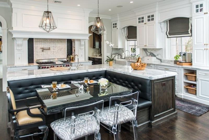 23 Amazing Built In Kitchen Nooks-13