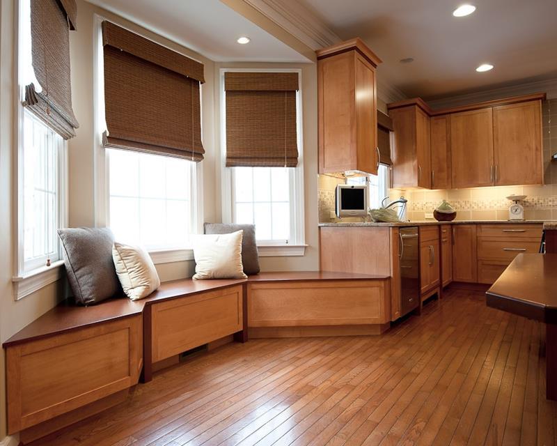 23 Amazing Built In Kitchen Nooks-15