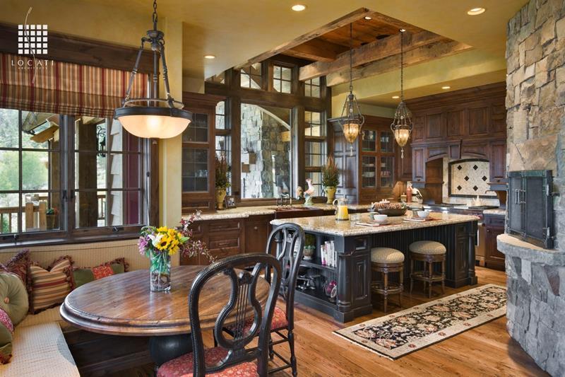 23 Amazing Built In Kitchen Nooks-3