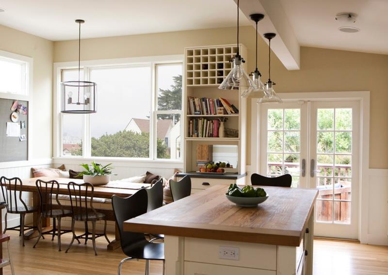 23 Amazing Built In Kitchen Nooks-4