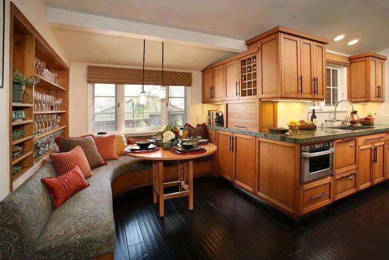 23 Amazing Built In Kitchen Nooks-6