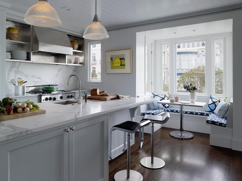 23 Amazing Built In Kitchen Nooks-7