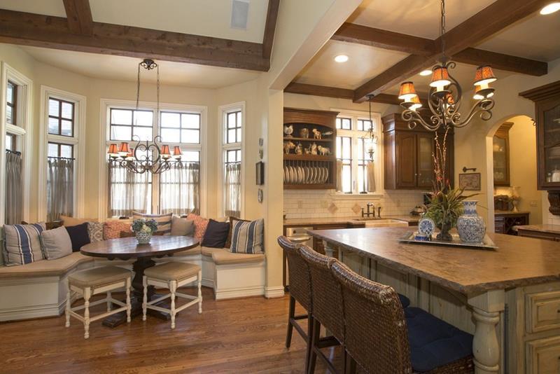 23 Amazing Built In Kitchen Nooks-9