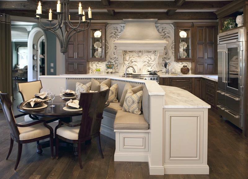 23 Amazing Built In Kitchen Nooks-title
