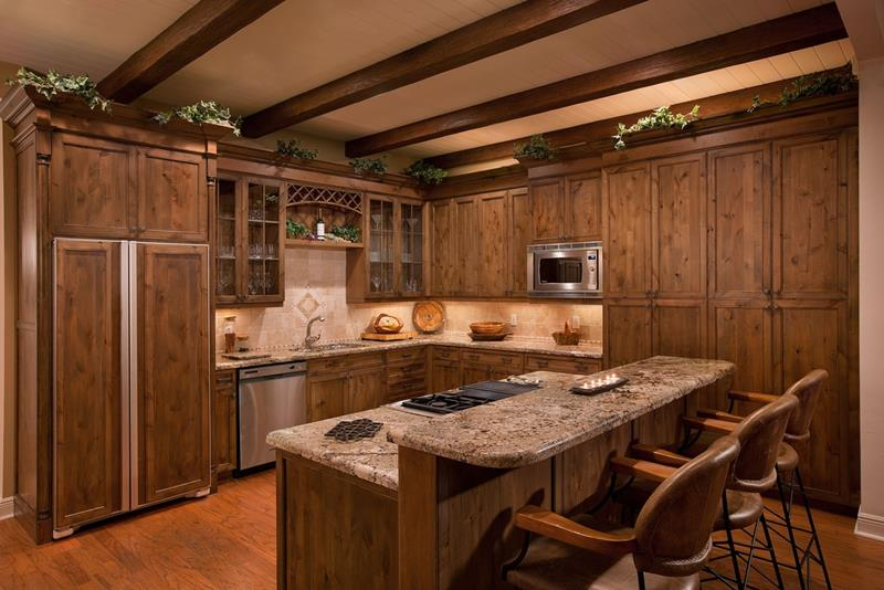 23 Brown Kitchen Designs-14