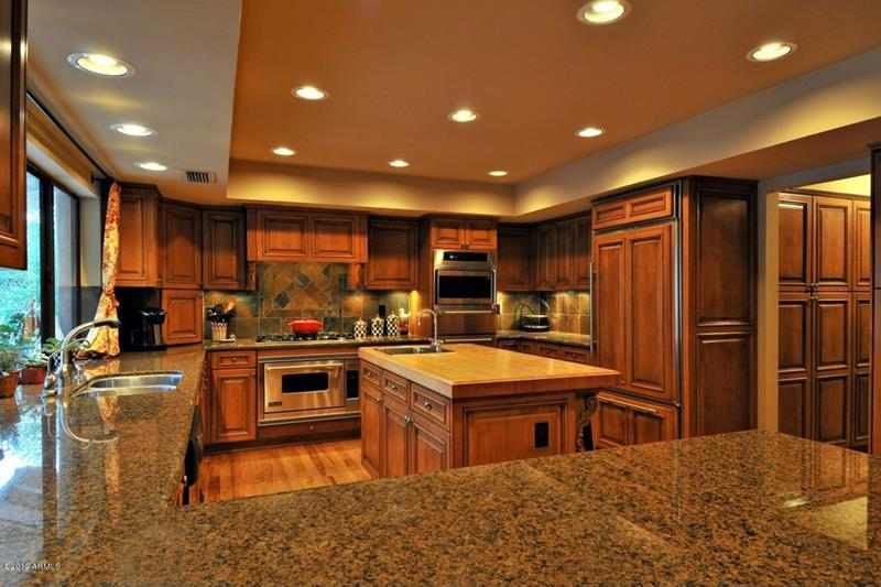 23 Brown Kitchen Designs-23