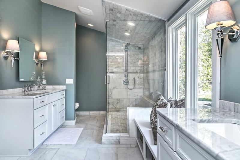 23 Marble Master Bathroom Designs-14