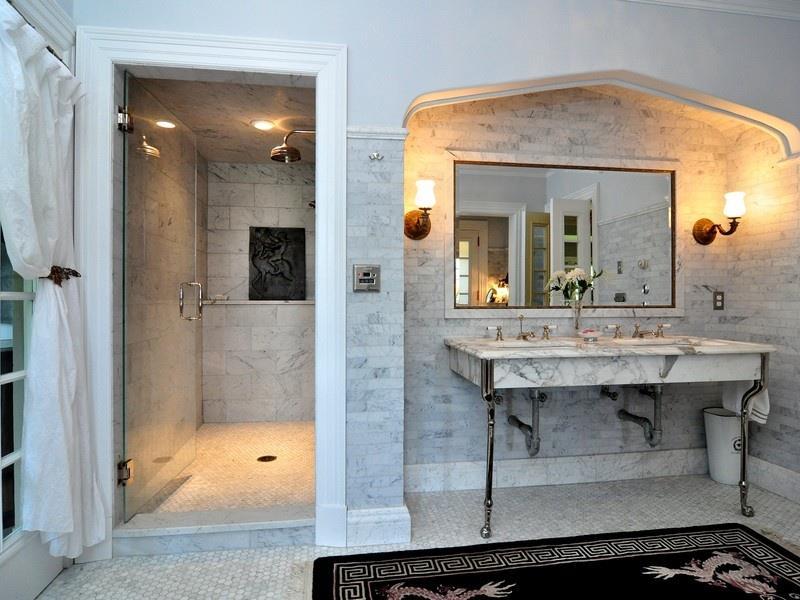 23 Marble Master Bathroom Designs-6