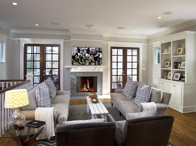 23 Stunning Living Rooms With Crown Molding Page 3 Of 5