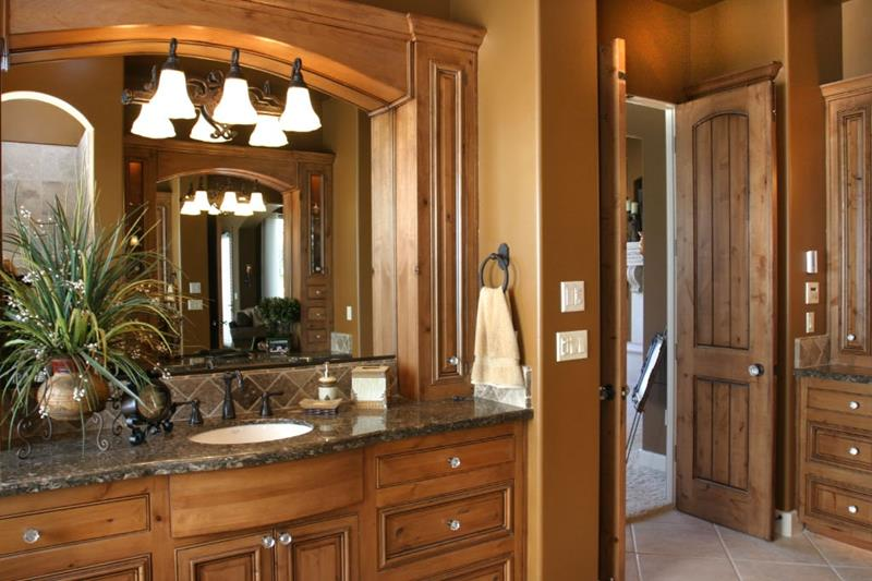 24 Brown Master Bathroom Designs-13