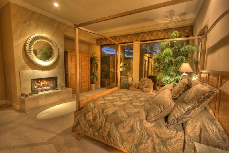25 Brown Master Bedroom Designs-17