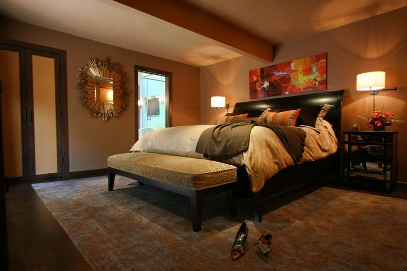 25 Brown Master Bedroom Designs-22
