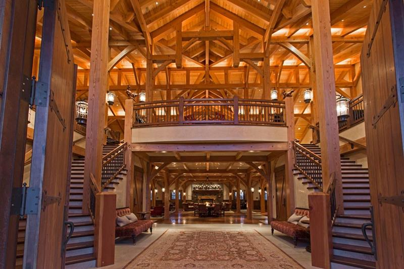 25 Photos of a Jaw Dropping 20 Million Barn Home In Utah-4