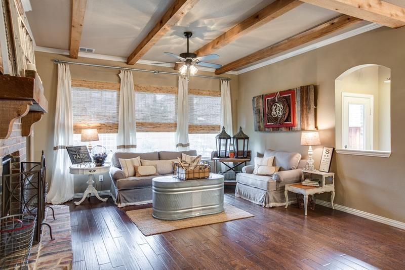 23 Shabby Chic Living Room Design Ideas-14