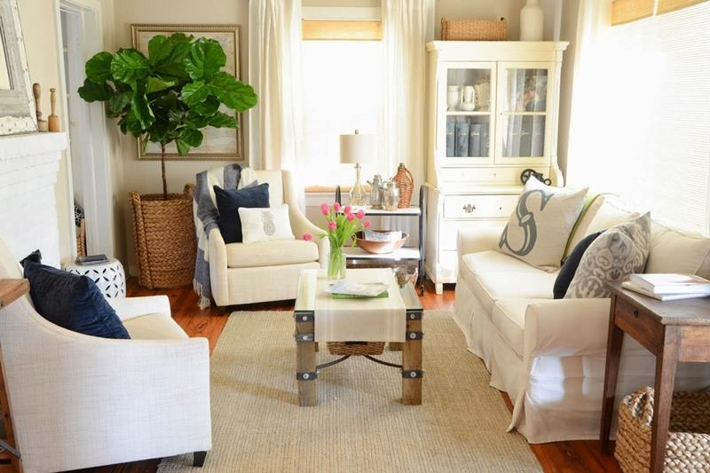 23 Shabby Chic Living Room Design Ideas-17