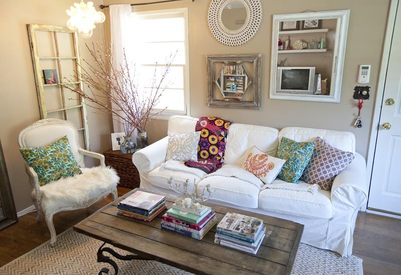 23 Shabby Chic Living Room Design Ideas-21