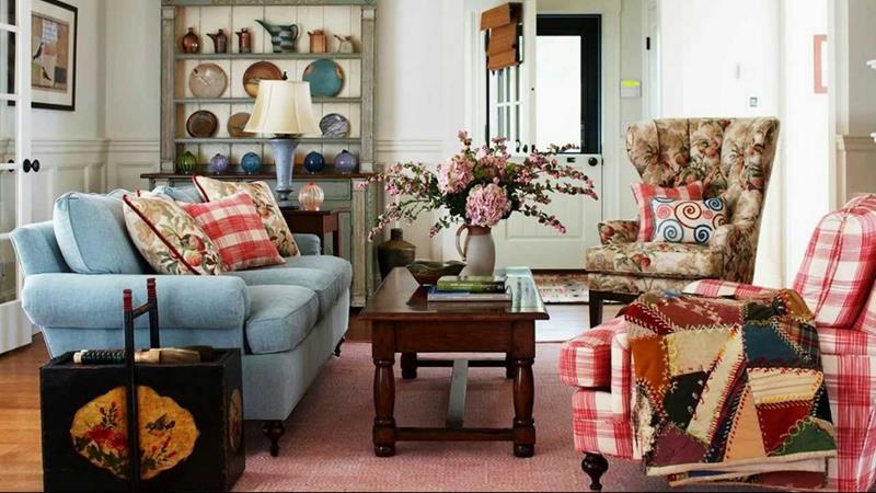 23 Shabby Chic Living Room Design Ideas-23