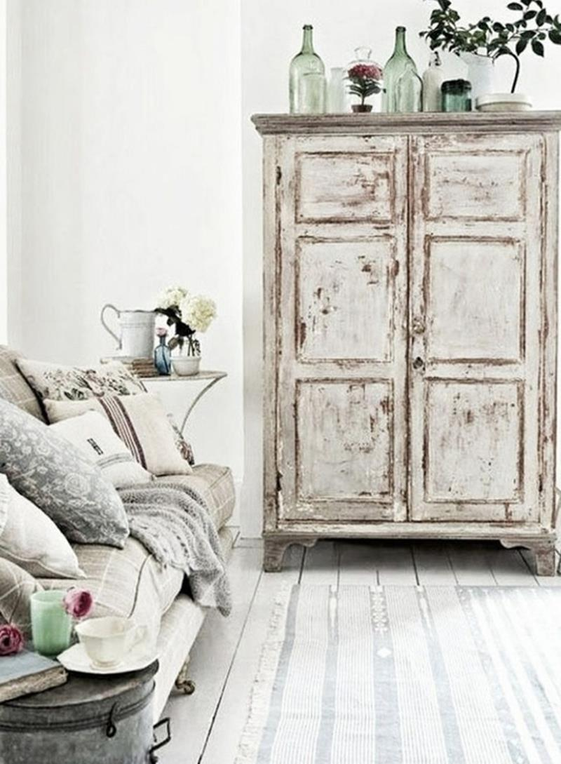 23 shabby chic living room design ideas page 2 of 5. Black Bedroom Furniture Sets. Home Design Ideas