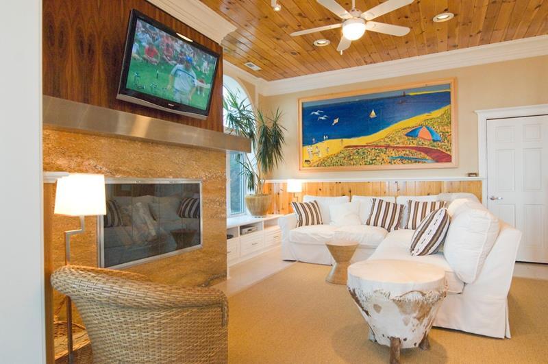 24 Design Ideas for Living Room Walls-12