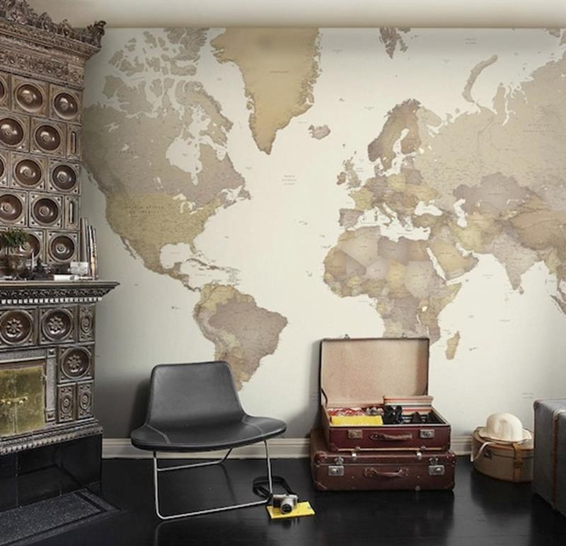 24 Design Ideas for Living Room Walls-18