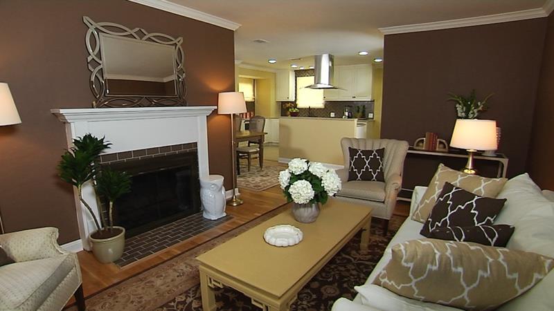 24 Design Ideas for Living Room Walls-20