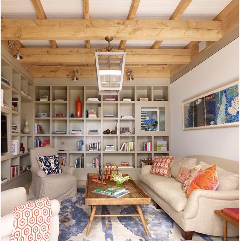24 Design Ideas for Living Room Walls-21