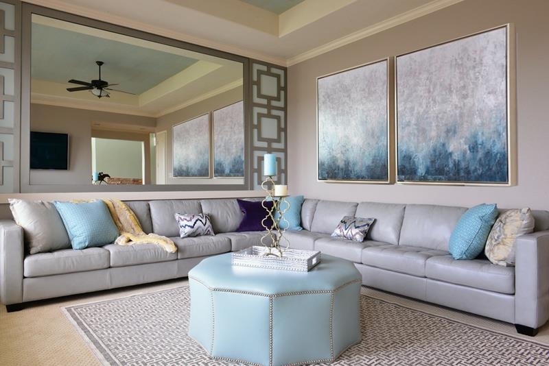 24 Design Ideas for Living Room Walls-22