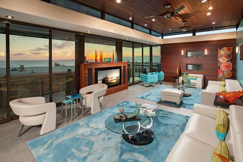 24 Design Ideas for Living Room Walls-5