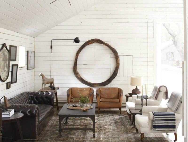 24 Design Ideas for Living Room Walls-7
