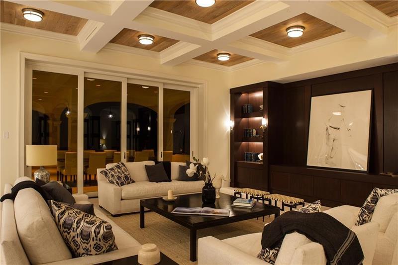 24 Design Ideas for Living Room Walls-8