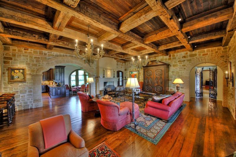 24 Design Ideas for Living Room Walls-9