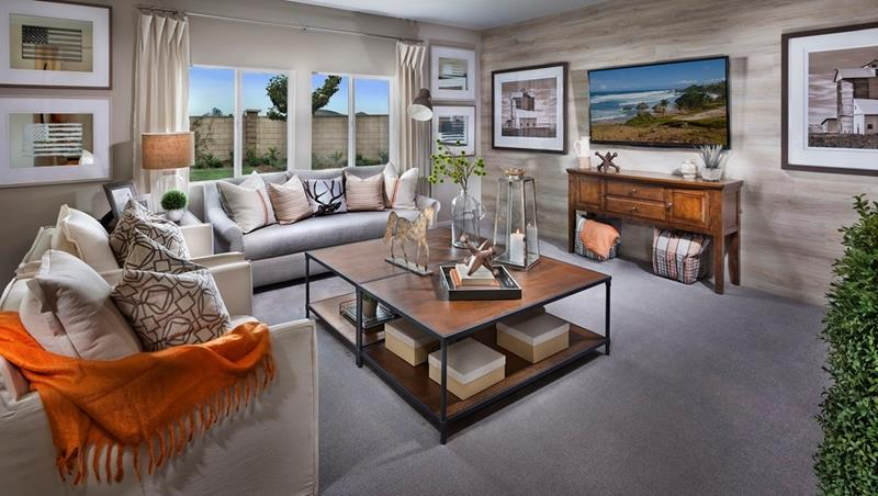 24 Gorgeous Living Rooms with Accent Walls-9