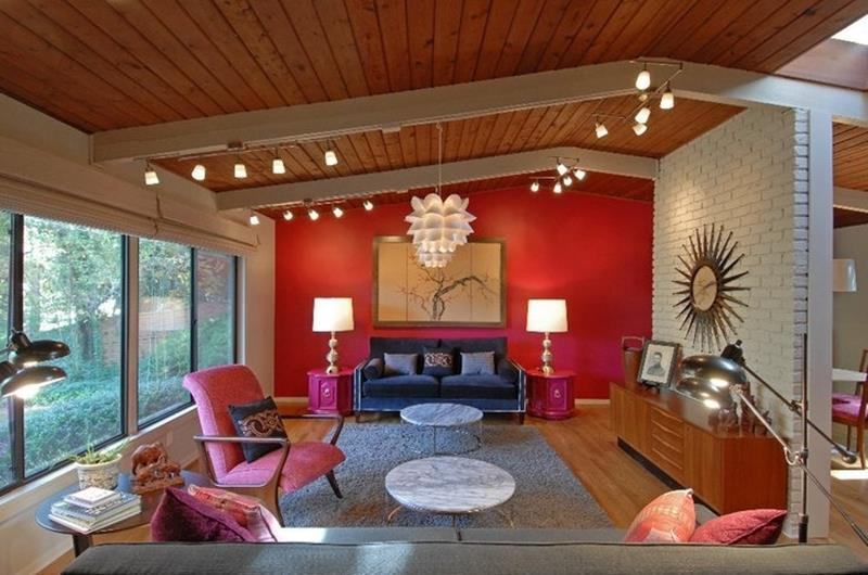 24 Gorgeous Living Rooms with Accent Walls-title