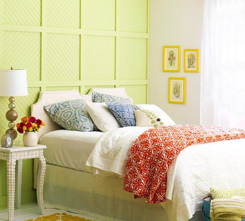 25 Beautiful Bedrooms with Accent Walls-1
