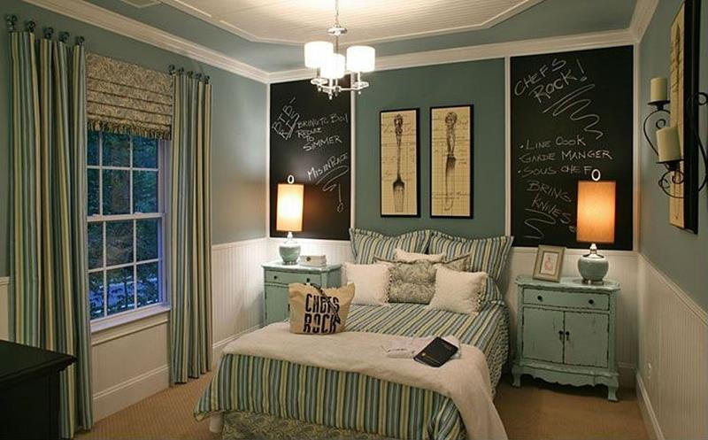 25 Beautiful Bedrooms with Accent Walls-21