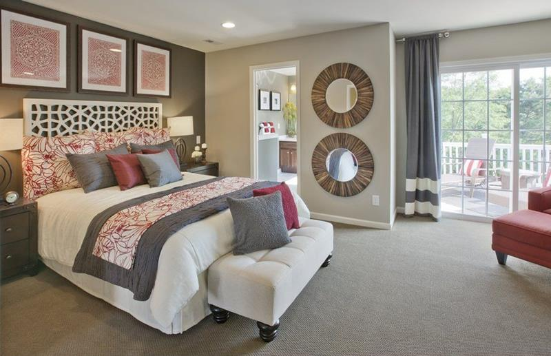 25 Beautiful Bedrooms with Accent Walls-5