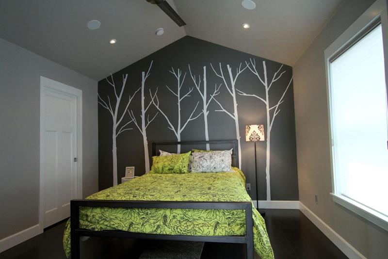 25 Beautiful Bedrooms with Accent Walls-9