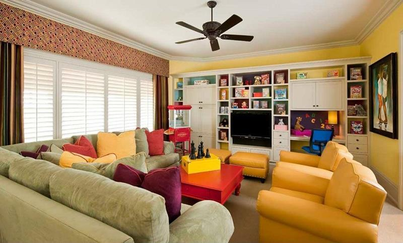 25 Beautiful Family Room Designs-23