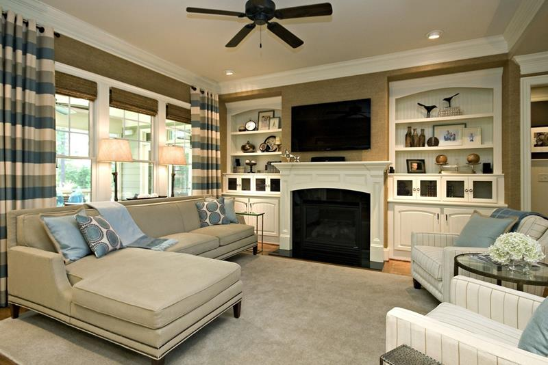 25 Beautiful Family Room Designs-title