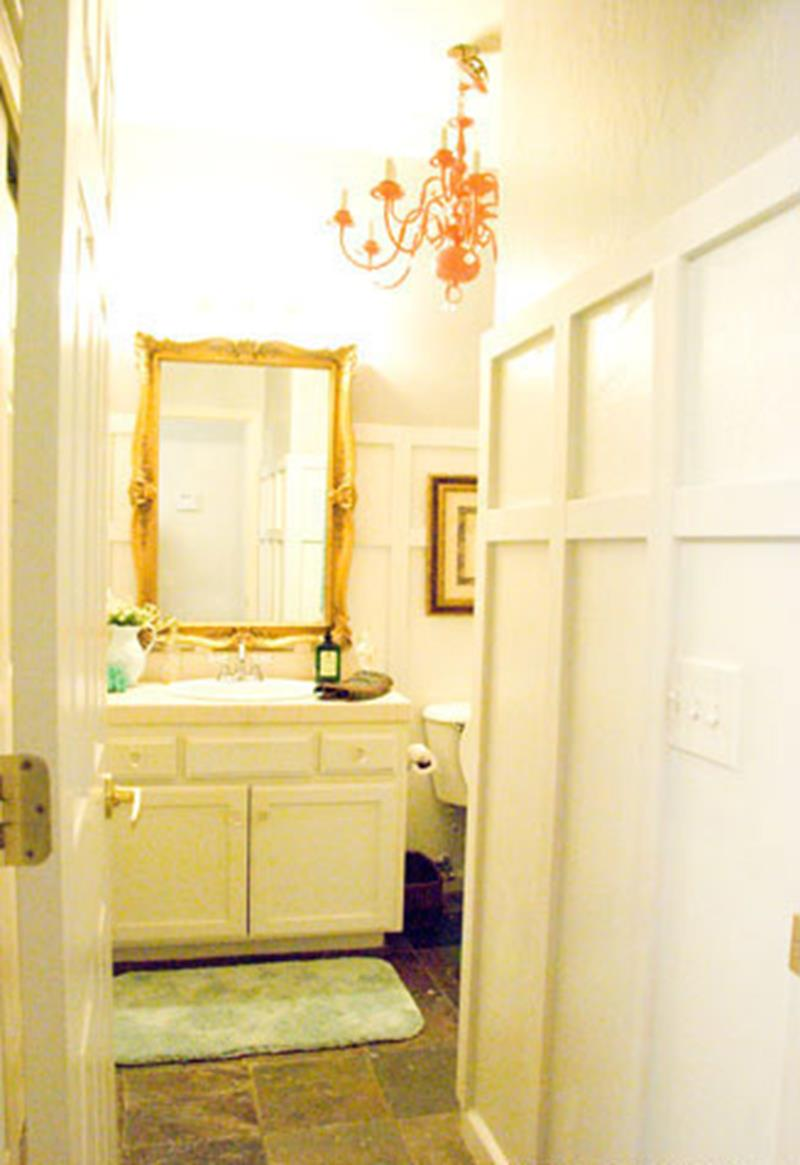 An Amazing Bathroom Remodel with a 100 Budget-10