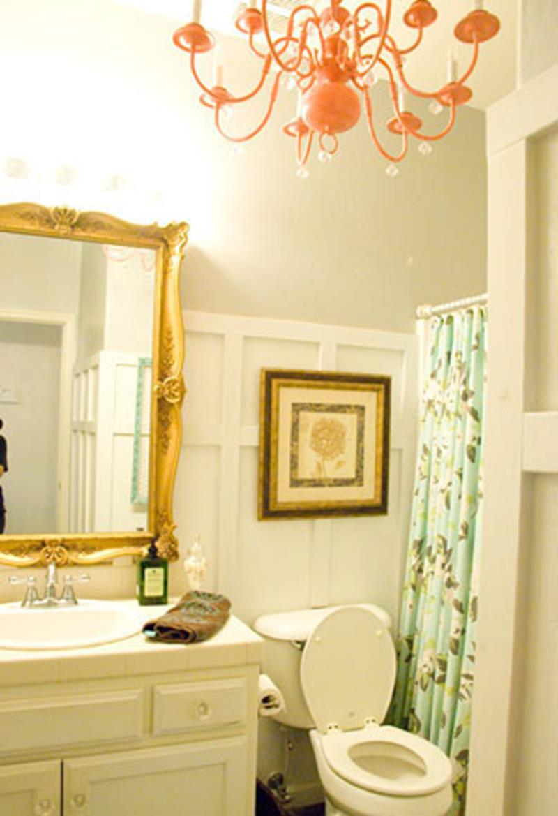 An Amazing Bathroom Remodel with a 100 Budget-11